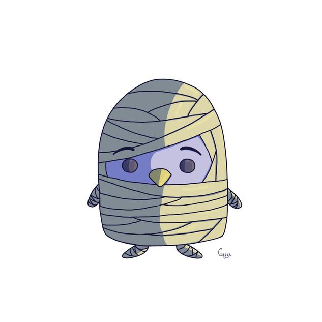 Penguin Mummy