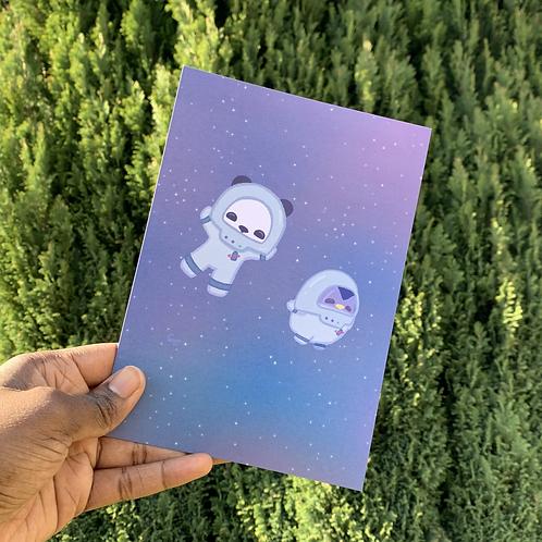 Exploring Space - A5 Print