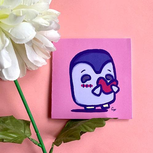 Pengin Love - Greeting Card
