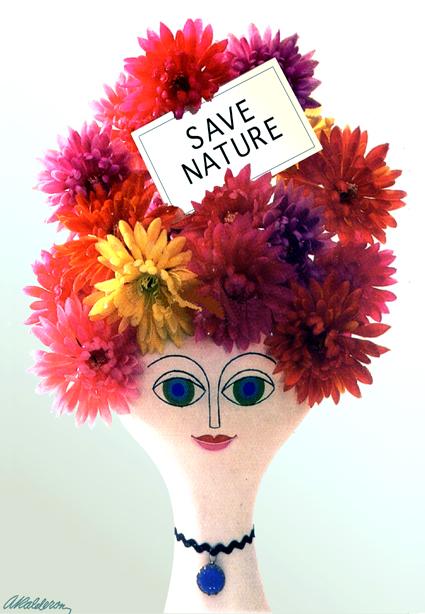 SAVE NATURE's BEAUTY  Envionmental