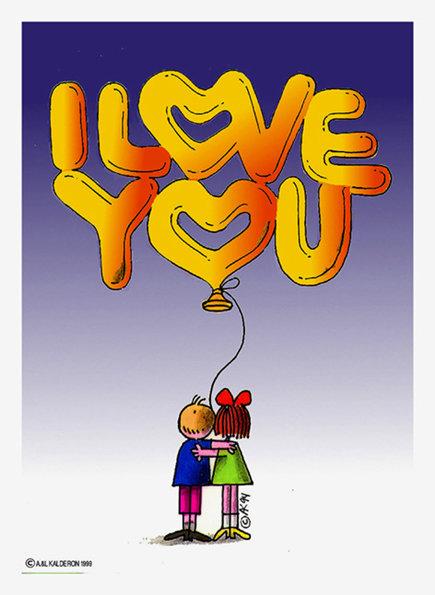 111 I LOVE YOU Children _#A674