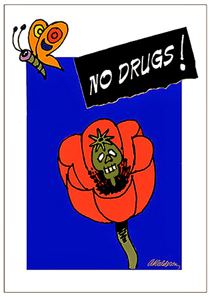 NO DRUGS Anti-drugs