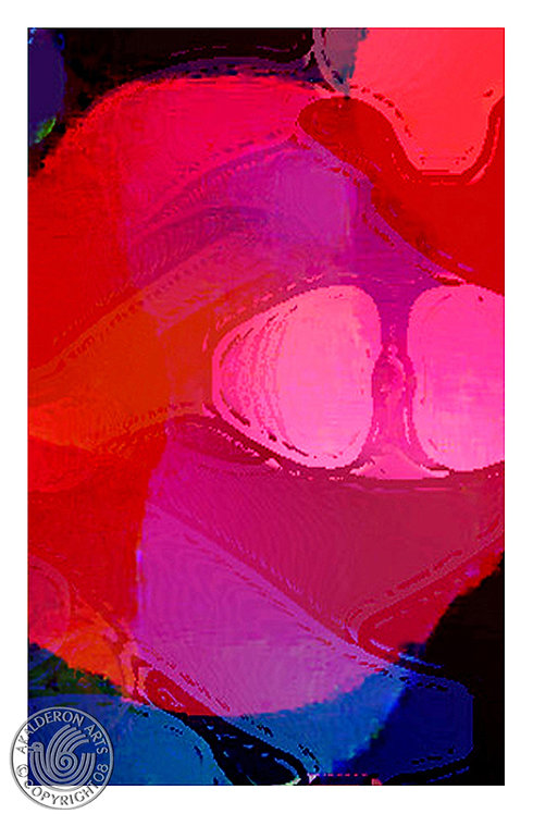 Abstract Pink