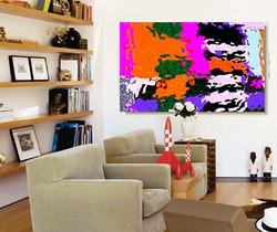 h SPRING Canvas print art#BFB6.jpg
