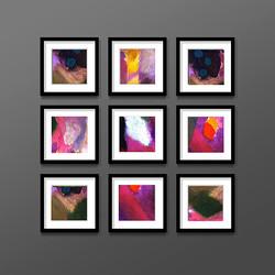 n Nine small abstract prints.jpg