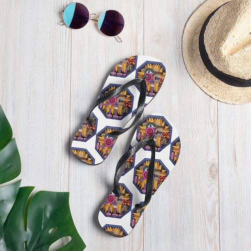 Flip-Flops with Zodiac signs, Birthday Gift for Leo, Gift for August Birthday