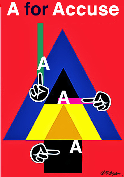 A FOR ACCUSE Protest