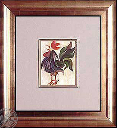Rooster Acrilic