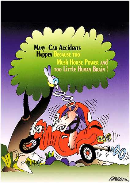 MANY CAR ACCIDENTS