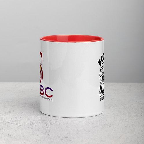 Hope Anchors The Soul  Color Mug