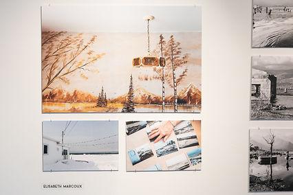 Exposition finissants, Cégep de Matane, Elisabeth Marcoux, 2019