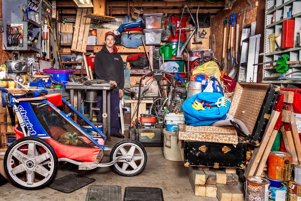 1/9  - Dans nos garages