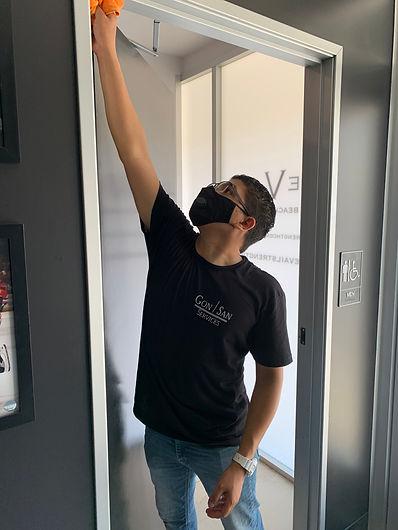 Commercial Door Cleaning