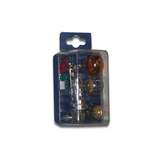 Mini estuche de Lámparas H7+H1 12V