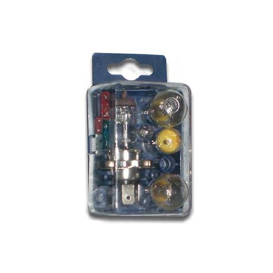 Mini estuche de lámparas H4 12V