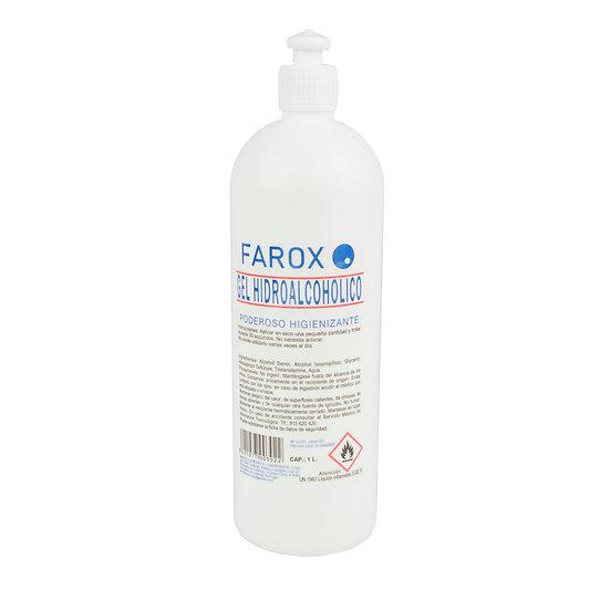 Gel Hidroalcólico Farox 1L