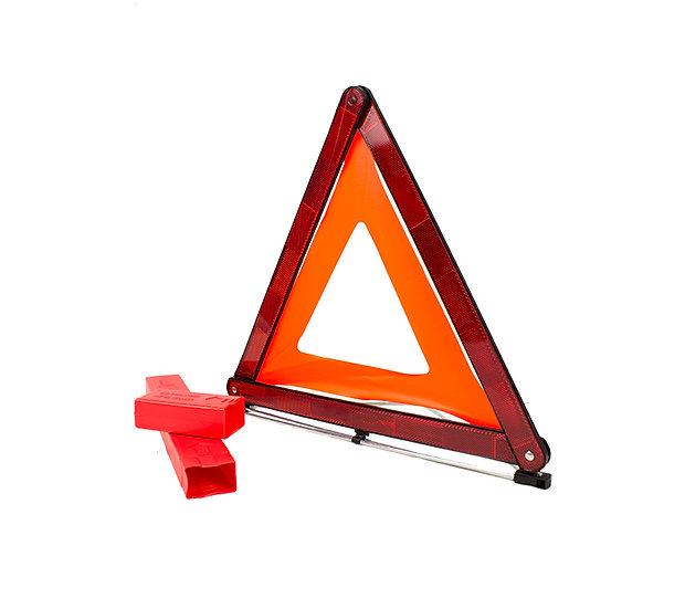 Triángulo de señalización homologado(50 Unidades)