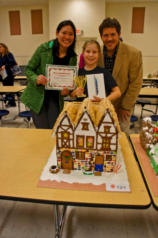 Gingerbread House Competiti