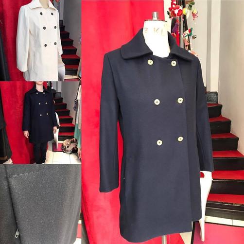 Manteau sur mesure en laine