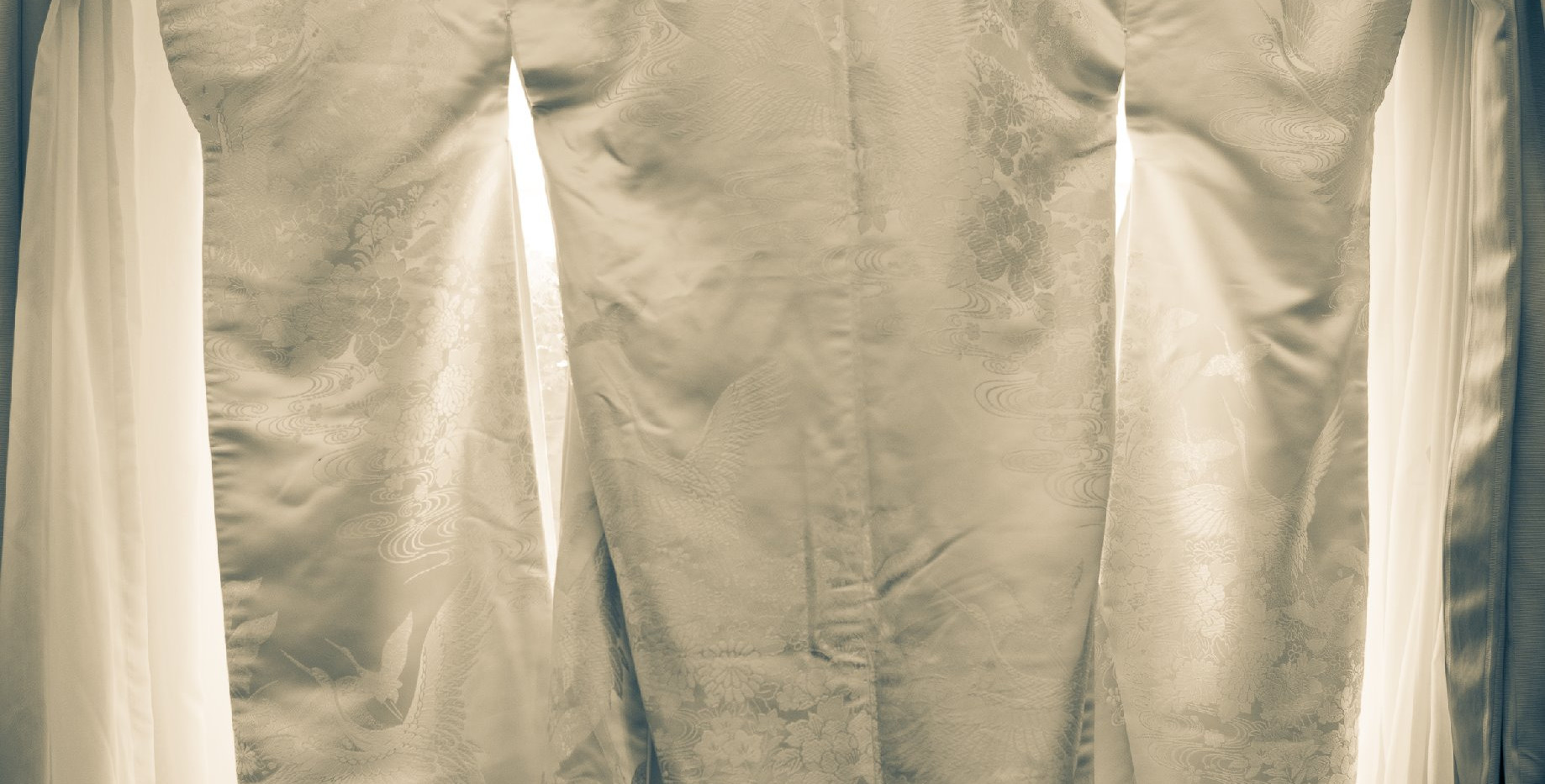 Kimono de Mariage Vintage