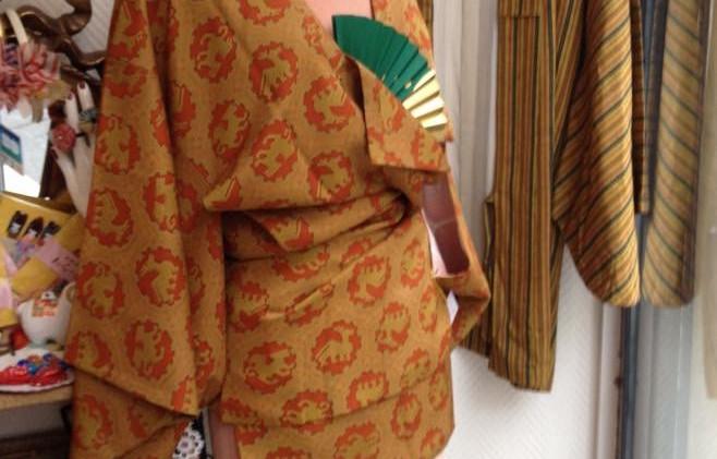 Haori vintage Kimono