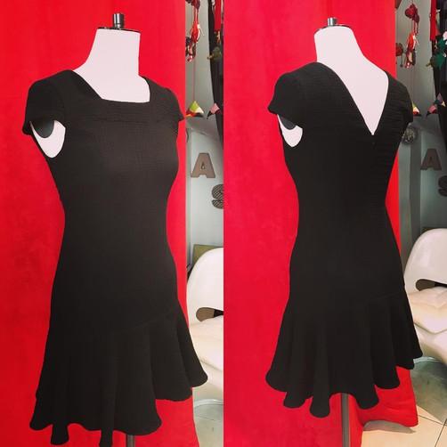 Petite robe noire sur mesure