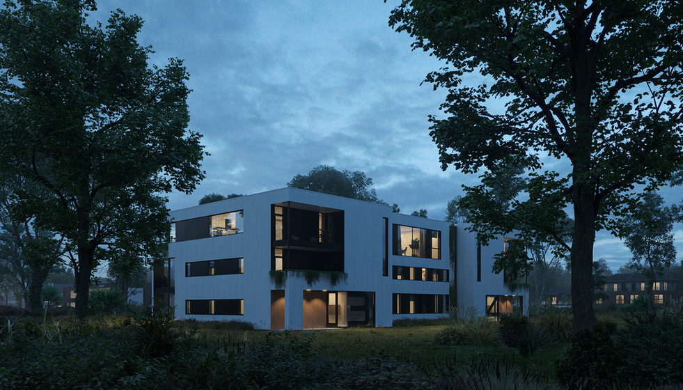 Residential complex in Norway  Client : Desti  Location: Norway