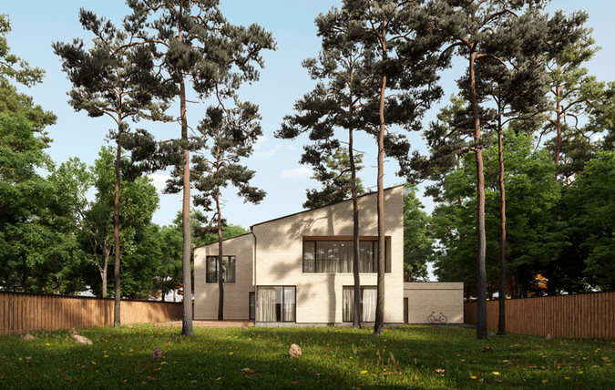 House in the Moscow region  Location: Moscow region  Architecture: Gikalo Kuptsov Architects