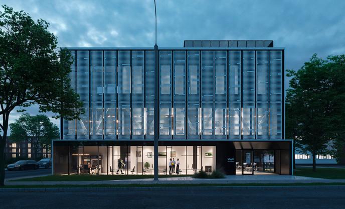 Wiadomości Wrzesinskie Editorial Office  Location: Poland  architecture : Ultra Architects
