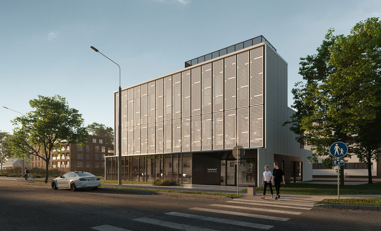 Wiadomości Wrzesinskie Editorial Office  Location: Poland  architecture : Ultra Architects