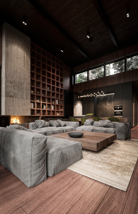 ROMA HOUSE interior  Location: Moscow  Client : buro511