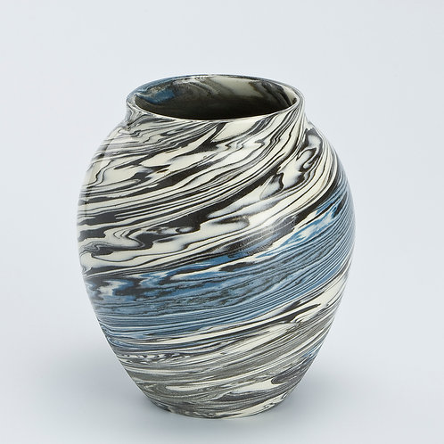 Small marble vase