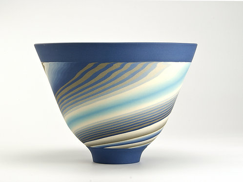 Blue Neriage bowl