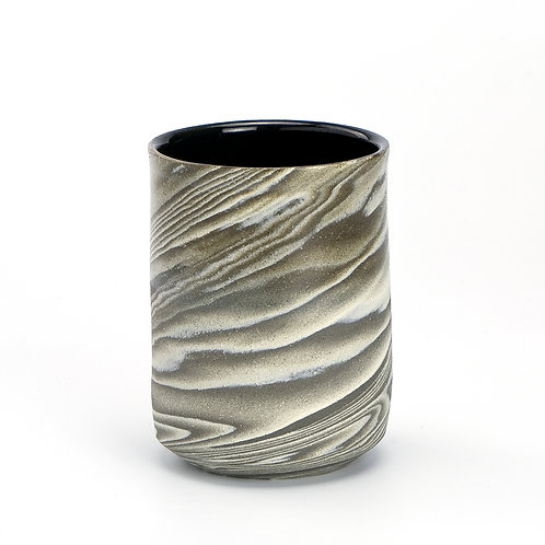 Taupe Marble Tumbler 01