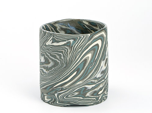 Green marble Utensil Holder