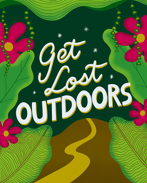 Get Lost Outdoors Jungle Tropical Vibes Leticia Romano Leti