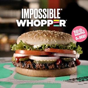 Impossible Whopper Burger King Leticia Romano