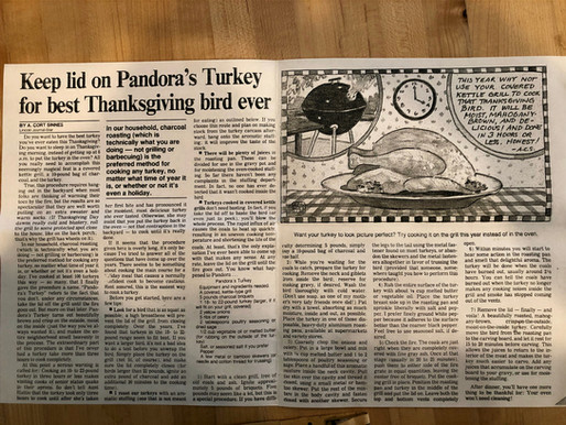 Pandora's Turkey: skip the oven!