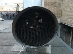 duct external exit