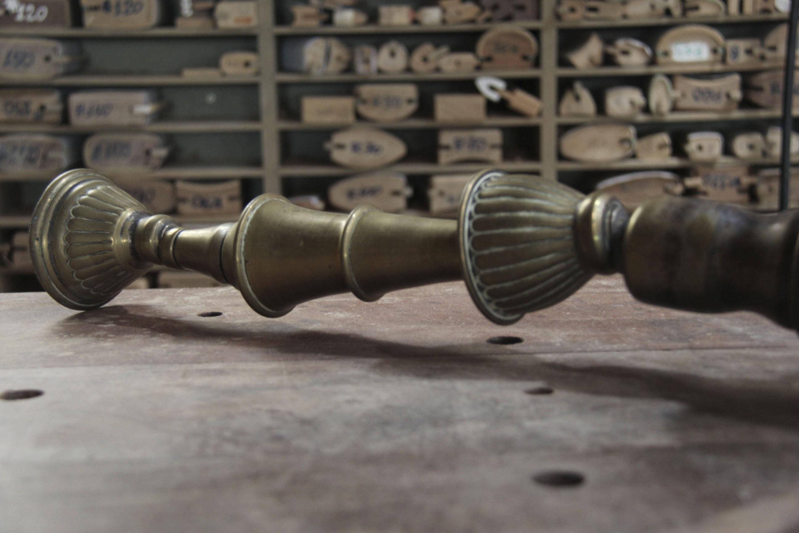 antiga luminária