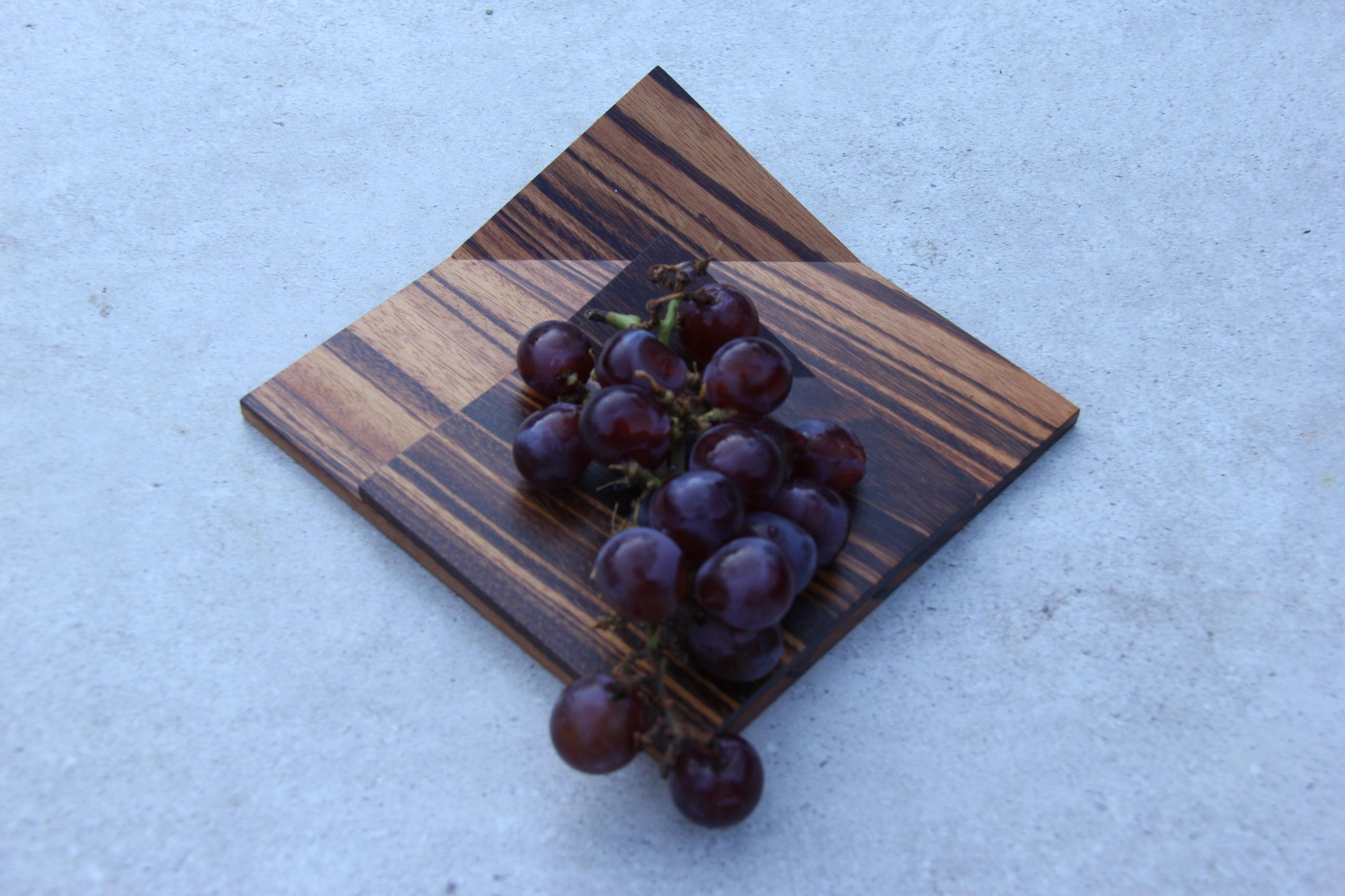 Prato dobrado - madeira maciça