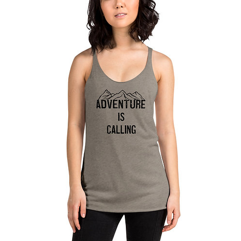 Adventure is Calling Women's Racerback Tank