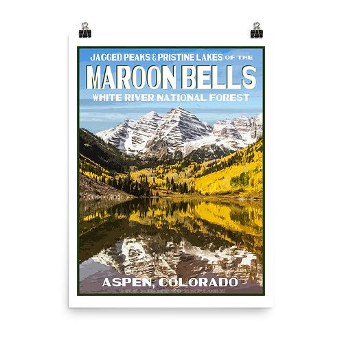 Maroon Bells Poster