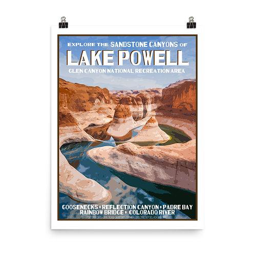 Lake Powell Poster