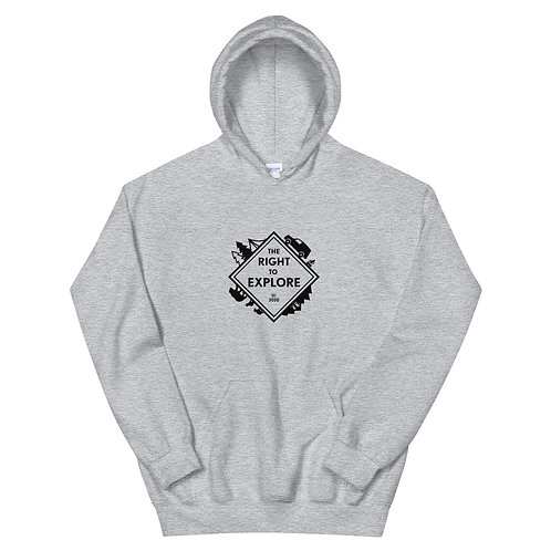The Right to Explore Unisex Hoodie