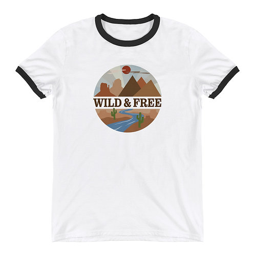 Wild & Free Ringer T-Shirt