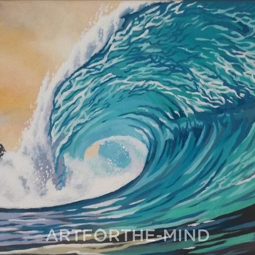 Aqua Pacific Wave