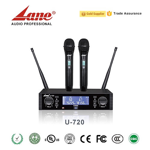 LANE U-720 Kablosuz Mikrofon Seti