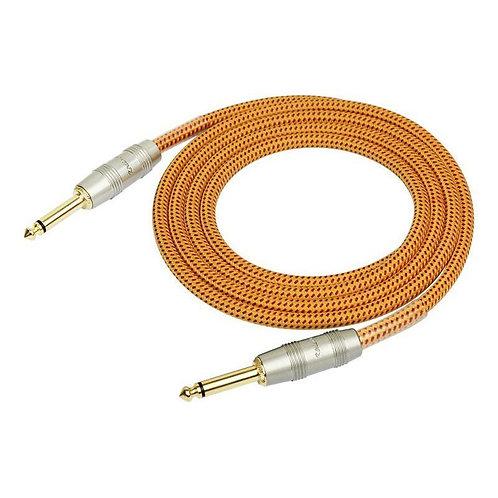 Kirlin IW-241PRGOR 1/4'' Mono Düz Uç 3 Metre Kablo