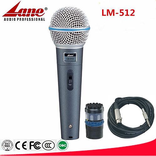 LANE LM-512 Dinamik Mikrofon